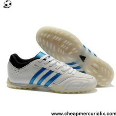 22f6e8d03 Latest Listing adidas 11Questra TRX Turf Shoes White Blue Black Shoes Store  Adidas 11questra
