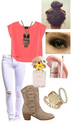 """Do i have to go..."" by kmkazdunich ❤ liked on Polyvore"