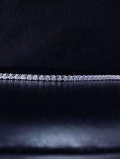 "Solid 14k White Gold Natural Diamond Tennis Bracelet 3 ct Round Cut 7 "" F VS2 #GDD #Tennis"