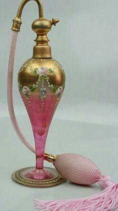 Vintage Perfume Bottle♥