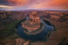 Morning Warning - A photograph of the iconic horseshoe bend near Page, Arizona taken at sunrise. This is another image which was reprocessed from a brief trip to the area last year. I still have the urge to keep returning to this spot to capture it's magnificence.  You can save 20% on this print and more at http://www.pjcphotography.com/Pages/Prints, use discount code MARCH20 during checkout.