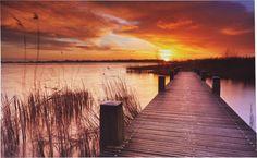 Damit das Sommerfeeling noch lange in den Herbst und Winter hinein konserviert werden kann, gibt es tolle Bilder bei Möbelix! Country Roads, Celestial, Sunset, Winter, Outdoor, Environment, Great Pictures, Home Decor Accessories, Decorating