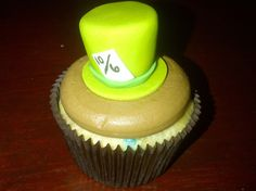 Mad Hatter Cupcakes Alice and Wonderland