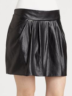 Jan Leather Skirt