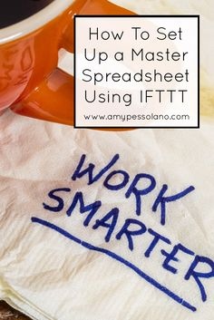 This is a great DIY idea and guide to get your blog posts in a spreadsheet automatically.