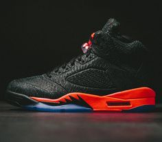 "finest selection 4cb03 7d38f Air Jordan V ""3LAB5"" – Black   Infrared"