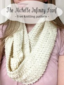 Opul infinity scarf by megan goodacre free pattern available on little miss stitcher the michelle infinity scarf a free and easy knit pattern dt1010fo