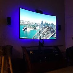 home lighting: 25 led lighting ideas | bulbs, movie theater decor, Wohnzimmer