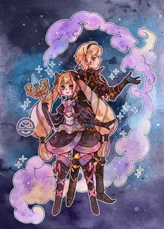 Fire Emblem Fates - Leo and Elise