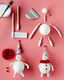 spun cotton over styrofoam balls tutorial from Martha Stewart Crafts