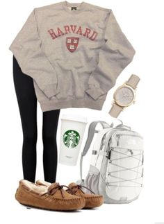 college outfits, lazy day outfits for school, lazy college outfit, Cute Lazy Day Outfits, Cute Outfits For School, Teenage Outfits, Teen Fashion Outfits, Cute Casual Outfits, Everyday Outfits, Outfits For Teens, Stylish Outfits, Emo Outfits