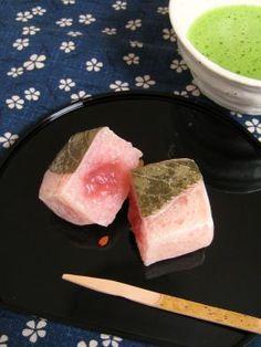 「桜餅きんつば風♪」ナナママちゃん | お菓子・パンのレシピや作り方【corecle*コレクル】