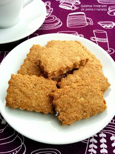 Dukan Diet Recipes, Raw Food Recipes, Sweet Recipes, Tortas Light, Gooey Cookies, Kinds Of Cookies, Pan Dulce, Pastry And Bakery, Fondant Cakes