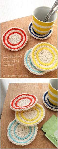 Crochet Tulle Scrubbie Pattern Crafts Diy Tutorials