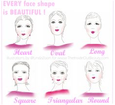 3 EASY STEPS TO FINDING YOUR FACE SHAPE!