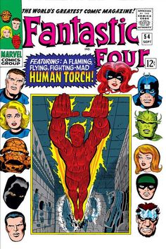 Fantastic Four #54 - Whosoever Finds the Evil Eye