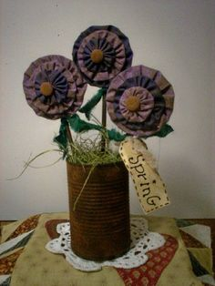 pictures primitive easter crafts - Bing Images Rusty Can