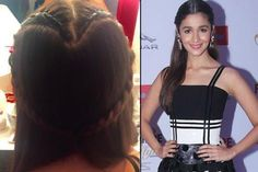 10 Surprisingly Easy And Chic Hairstyles Of Alia Bhatt You Should Definitely Try Side Ponytails, Side Braid Hairstyles, Messy Ponytail, Messy Braids, Chic Hairstyles, Alia Bhatt, Heart Braid, Bollywood Hairstyles, Androgynous Look