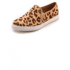 $108.00 Splendid Seaside Slip On Sneakers - Leopard