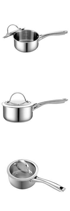 Cooks Standard Quart Stainless Steel Saucepan with Lid Saucepans, Stainless Steel, Cooking, Kitchen, Brewing, Cuisine, Skillets, Cook, Pots