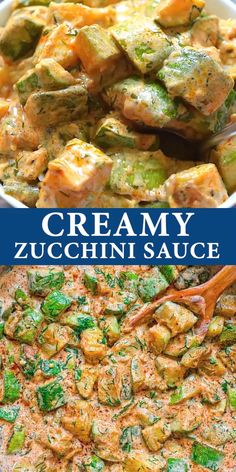 Its zucchini season and youve got to try this recipe Fresh flavorful and so versatile this Zucchini Sauce pairs well with pasta quinoa rice and many other grains If you a. Seasoned Rice Recipes, Veggie Recipes, Lunch Recipes, Summer Recipes, Healthy Dinner Recipes, Cooking Recipes, Tasty Vegetarian Meals, Vegetarian Zucchini Recipes, Zucchini Dinner Recipes
