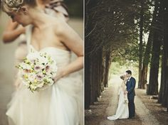 Canberra Wedding Photography : A traditional but soft version.