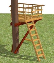 Backyard For Kids, Backyard Projects, Tree Deck, Tree Tree, Tree House Deck, Tree House Swing Set, Deck Around Trees, Beautiful Tree Houses, Best Tree Houses