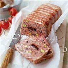 Ham hock terrine ham hock terrine recipes and hams for Chicken and pork terrine with pistachio