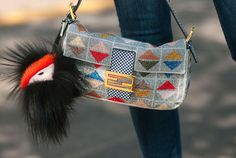 Fendi bag - Street Style at Spring 2014 Milan Fashion Week