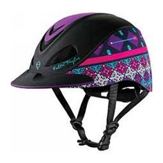 New Troxel Fallon Taylor Purple Geo Performance Riding Helmet NEW. Sporting Goods from top store Equestrian Boots, Equestrian Outfits, Equestrian Style, Equestrian Fashion, My Horse, Horse Tack, Horse Gear, Horse Boots, Breyer Horses