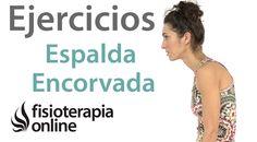 Cómo corregir la postura de la espalda encorvada mediante ejercicios, au... #estiramientos #entradaencalorpilates #entradaencaloraerobica