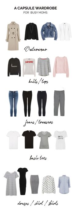 capsule wardrobe for busy moms: my real-life capsule wardrobe as a new mum