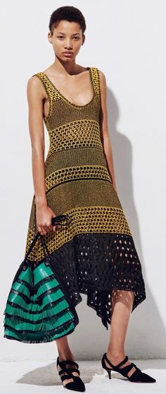 Proenza Schouler - cotton knit mazi dress