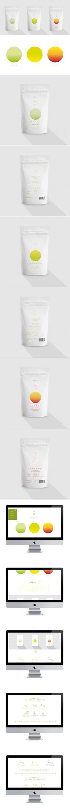 Têtê Tea — The Dieline   Packaging & Branding Design & Innovation News