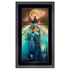 Framed Limited-Edition ''Fathoms Below'' The Little Mermaid Giclée | Giclees | Disney Store | $794.50