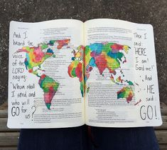 Serendipitous Discovery: Welcome to My Latest Adventure: Bible Journaling Isaiah 6:8 #bible #biblejournaling #bibleartjournaling