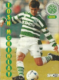 Tosh McKinlay of Celtic in 1995.