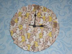 Orologio in pasta di sale