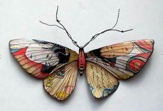 butterfly,japanese, Metalworks-.xx tracy porter. poetic wanderlust. xx
