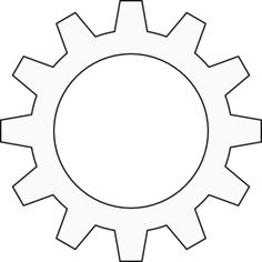 Cog Cogwheel Outline Gadgets And Gizmos Vbs, Maker Fun Factory Vbs, Transformers Birthday Parties, Transformer Birthday, Rescue Bots, Vacation Bible School, Clipart, Classroom Decor, Crafts For Kids