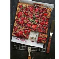 Strawberry Rosemary Frangipane Wholegrain Tray Bake. 10 Indian Bakers Whose Instagram Feed Will Make You Drool Yay. So happy to be featured on The Huffington Post doing what I enjoy best!! http://www.huffingtonpost.in/2016/08/24/10-indian-bakers-whose-instagram-feed-will-make-you-drool/?ncid=tweetlnkinhpmg00000001