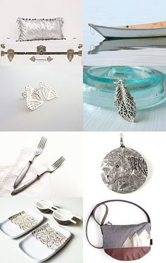 Silver idea by Mariposa Handmade leather bag on Etsy--Pinned with TreasuryPin.com