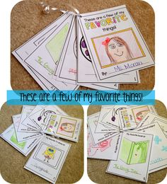 All About ME: A back to school unit with lots of partner activities, crafts and art/writing projects to help students get to know themselves and one another at the beginning of the year! All About Me Project, All About Me Crafts, All About Me Preschool, All About Me Activities, First Day Activities, Back To School Activities, Classroom Activities, School Resources, Classroom Ideas