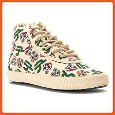Startas Women's Viva Mexico High Top Red/Green Multi 41 EU - Sneakers for women (*Amazon Partner-Link)