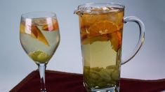 "Clinton Kelly's ""Tax White-Off"" Sangria"