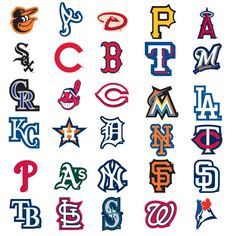 Worksheet. This is a picture of a map full of Major League Baseball teams all