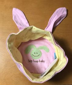 627e56baa Baby Toddler Easter Bunny Hat by Rich frog New Reversible Organic Cotton   fashion  clothing