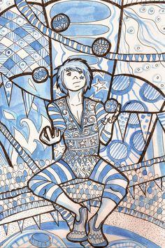 Circus theme - The Juggler