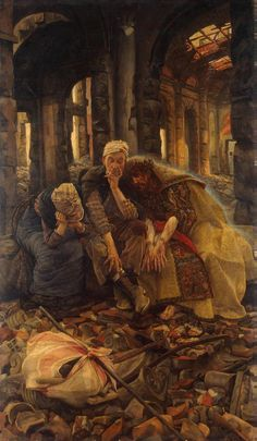 """Christ Consoling the Wanderers"" by James Tissot"