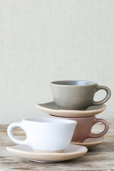Organic espresso cup